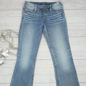 Silver Suki Jeans 26/33